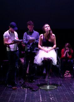 """22.11, czytanie sztuki """"Reduplikacja"""" Darii Kubisiak / fot. Klaudyna Schubert"""
