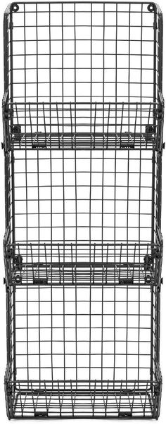 3-Tier Fruit Basket Stand – Sorbus Home 3 Tier Basket Stand, Storage Baskets, Kitchen Storage, Stackable Wine Racks, Tiered Fruit Basket, Faux Grass, Tasty Snacks, Wine Collection, Open Concept