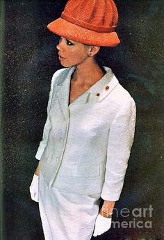 1960 70 Ladies Stylish Outfit Fashion Advertisement