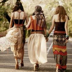 Bohemian babes #festivalstyle