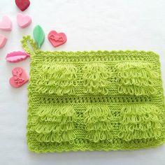 Püsküllü Lif Yapılışı #lif #knitting #ceyiz #örgü #elisi #hobi