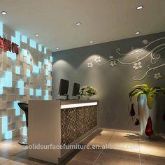 Mundo Tell personalizar mármol moderna de contador de la tienda boutique