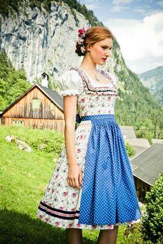 Lena Hoschek Dirndl - Oktoberfest Trachten by http://www.Bembeltown.com #fashion…