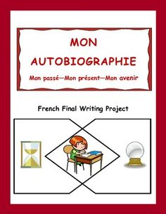 Make use of the fact that teenagers love to write about themselves. This great writing project for intermediate French students can be done over a couple of classes, in stages, or as a year-end task. French Teaching Resources, Teaching French, Core French, French Class, French Tenses, Futur Simple, French Practice, Object Pronouns, Learning A Second Language