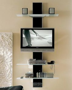 Corner Tv Wall Unit Designs - The subject of Inside Wall Layout will depart several stumped when you're in the procedure for decorating your home. Corner Tv Wall Mount, Corner Tv Unit, Wall Unit Designs, Tv Unit Design, Tv Wanddekor, Rack Tv, Modern Tv Wall, Tv Wall Decor, Diy Tv Stand