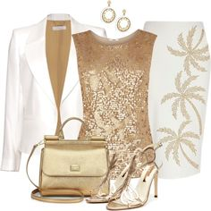 """Golden Sprintime"" by justbeccuz on Polyvore"