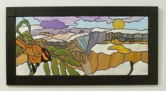 Wood Wall Decor, Southwest Canyons, Wall Sculpture, Wall Art by GalleryatKingston, $160.00 USD