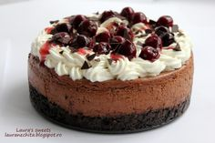 No Cook Desserts, Dessert Recipes, Cake Decorating For Beginners, Cake Factory, Eat Dessert First, Chocolate Cheesecake, Sweet Cakes, Something Sweet, Yummy Cakes