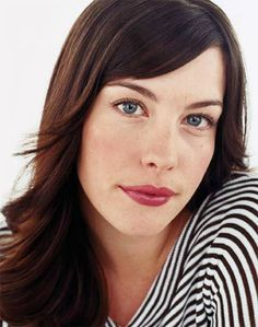 liv tyler ..... love her 'natural' style of make up