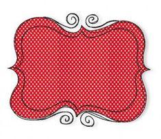 Der Stickbär | Doodle Frames | Stickmuster mit Herz