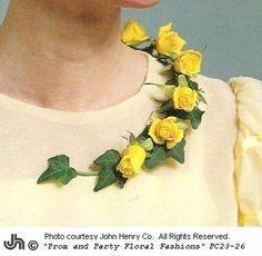 Yellow Rose Flower Jewelry