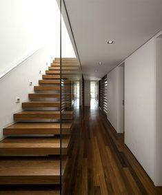 Luxurious and Sophisticated Spirit of Brazilian Weekend #Home > #stairs bathed natural light