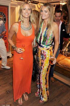 Cressida Bonas + dress