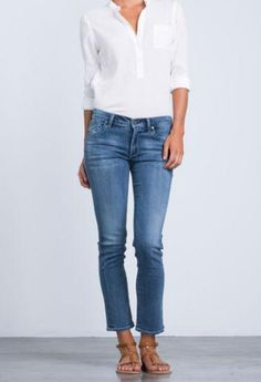 Citizens Of Humanity Phoebe Gaze Blue Jeans - Jessimara Citizens Of Humanity, Blue Jeans, Denim, Clothing, Pants, Collection, Fashion, Outfits, Trouser Pants