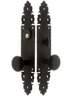 Lorraine Mortise Entry Set In Oil-Rubbed Bronze - 2 3/4\