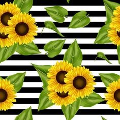 Seamless Pattern Sunflowers Background Background Templates, Vector Background, Background Patterns, Background Images, Sunflowers Background, Plant Background, Textured Background, Banner Design, Flower Backgrounds