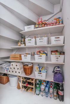 Mehr Ordnung in der Küche - Vorratsschrank organisieren | Haushalt
