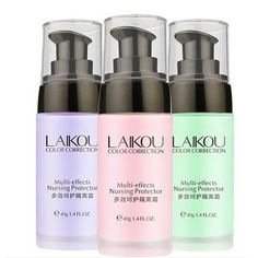 Women Whitening Waterproof Moisturizer Facial Makeup Primer Concealer Foundation