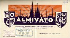 Eindhoven – Weer een prachtig kunststukje uit de verzameling briefhoofden van het RHCe: een brief die gestuurd werd door de voorzitter van H...