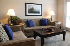 Affinity Corporate Living- living room