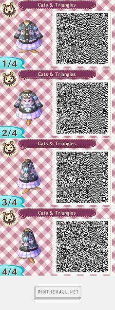 Cats and triangles, pastel goth sweater with lilac skirt