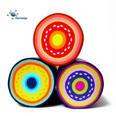 Mini circles canes | by Marcia - Mars design