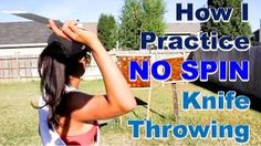 how to throw knives no spin - YouTube