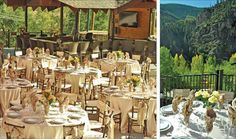 Wedding Sites and Services in Colorado; featuring venues, facilities, and event service providers for weddings and mitzvah celebrations throughout COL. Glenwood Springs Colorado, Glenwood Canyon, Wedding Reception, Wedding Ideas, Resort, Colorado Wedding Venues, Event Services, Getting Married, Table Settings