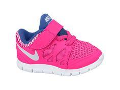 Nike Free 5.0 (2c-10c) Toddler Girls' Shoe