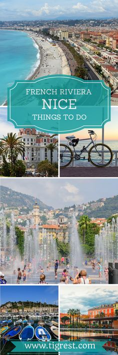 Things to do in Nice France for first time visitors. Read about our trip to Nice France. Where to go, what to see and how to spend an unforgettable day in French Riviera