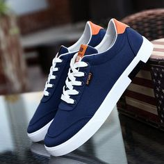 the latest 22c39 462c5 Fashion Canvas Shoes for Men Breathable Casual Men Shoes Comfortable  Loafers Male Shoes Footwear