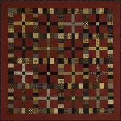 Wonderful! Dimestore from Miss Rosie's, in Jo Morton Fabrics