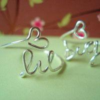 Sorority Personalized ring price for eachhandmade by J4Jennifer