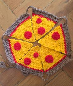 pizza no varal! - decoração sem marca