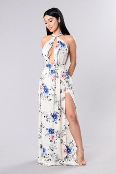 d5d181da4134e9 A Million Ways Dress - Ivory Floral Outfits For Mexico, Outfits For Teens,  Budget