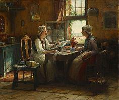 Edward Antoon Portielje (belgisch, 1861 - 1949)