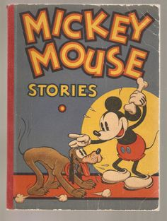 Mickey Mouse Stories - Staff Of Walt Disney Studio  ILLUS 1934