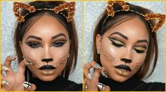 Hey guys, welcome back to my channel! Today's tutorial is going to be on this super glam cat face make up look for halloween. I had so much fun creating this...