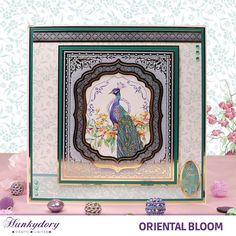 Oriental Bloom - Hunkydory | Hunkydory Crafts