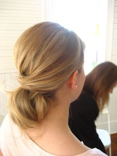 my wedding hair style. loved it.