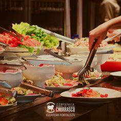O almoço já está servido! Vem que nós queremos dar mais sabor e cor ao seu dia a dia. :) #CompanhiaDoChurrasco #CiaDoChurrascoFortaleza #IguatemiFortaleza