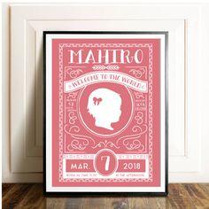 お洒落な命名書ならEYMのオリジナルデザインのベビーポスターで♡出産祝いのプレゼントとしても人気の命名書。EYMではお部屋に飾ってもおしゃれになる北欧風のデザインをたくさんご用意しました♪こちらのベビーポスターはベビーグッズ通販サイトEYMにて販売中です。(こちらのデザインはベビーポスター【命名書 / Design.25】になります。)