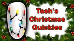 """HOW TO PAINT FAIRY LIGHTS NAIL ART TUTORIAL 