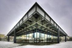 New National Gallery, Berlin - Germany, Ludwig Mies van der Rohe