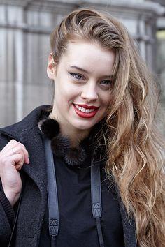 Paris Fashion week AW14 street style adorn jewellery blog fur pom poms