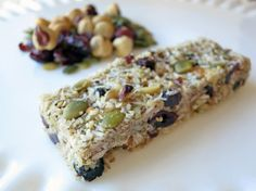 These look super tasty! Perfect for 3pm-itis. Paleo Nut and Berry Granola Bars (From Bakergal.com)