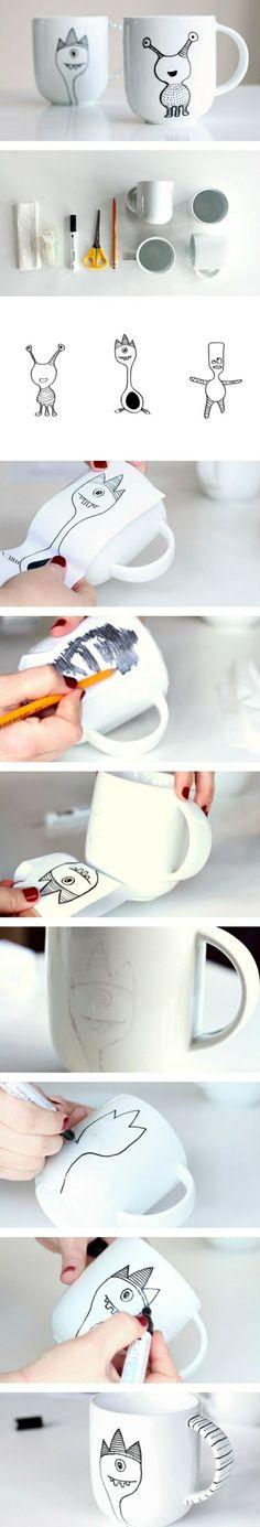 Comment faire un mug personnalisé à soi-même                              …