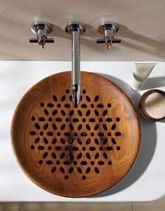 lavabo à motifs déco par Vitra