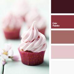 burgundy-pink, crimson, design palettes, designer combination of colors, faint pink, monochrome, monochrome color palette, monochrome palette, monochrome pink color palette, pale pink, red flesh, shades of purple.