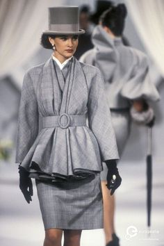 Christian Dior, Autumn-Winter 1989, Couture on www.europeanafashion.eu